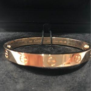 Cache Jewelry - Cartier love bracelet